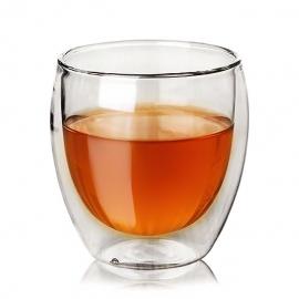 """Чашка-термос """"Ландыш""""из жаропрочного стекла, 140 мл."""