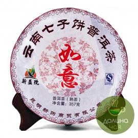Пуэр шу Синь И Хао, 2013 г., 357 гр.