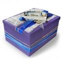 Подарочная коробка с дизайнерским оформлением под заказ