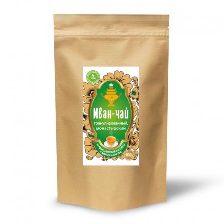 Иван-чай гранулированный, монастырский, 100 гр.