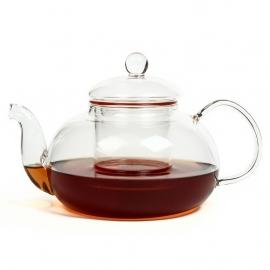 """Чайник стеклянный """"Лотос"""", объем 600 мл."""