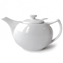 Фарфоровый чайник, объем 600 мл.