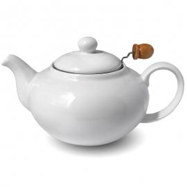 Фарфоровый чайник, объем 800 мл.
