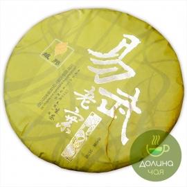 """Пуэр шен Мэнхай """"Иу Лао Чжай"""", 2013 г., 357 гр."""