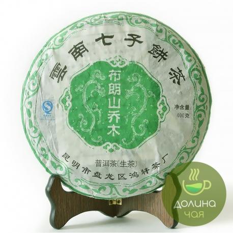 """Пуэр шен Мэнхай """"Булан Шань Цяо Му"""", 2008 г., 400 гр."""