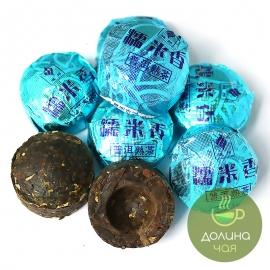 Пуэр Но Ми Сян Шу (с рисом) мини то ча, 5 шт.