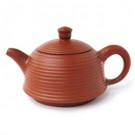 Чайник «Полосатый колодец», исинская глина, объем 100 мл.