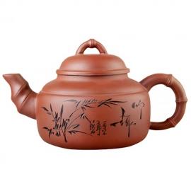 Чайник «Семь травинок», исинская глина, объем 1300 мл.