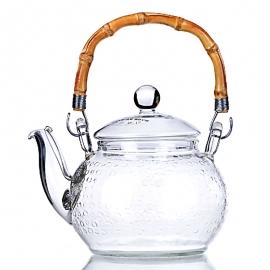 """Чайник стеклянный """"Летний дождь"""", объем 600 мл."""