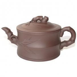 Чайник «Бамбук», исинская глина, объем 300 мл.