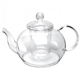 """Чайник стеклянный """"Ирбис"""", объем 1200 мл."""