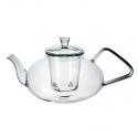 """Чайник стеклянный """"Пион"""", объем 1200 мл."""