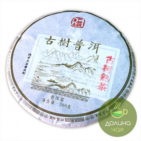 Пуэр Лао Ши То «Гу Шу», 2014 г., 200 гр.