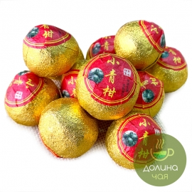 Пуэр в мандарине «Сяо Цин Гань» мини, 1 шт.