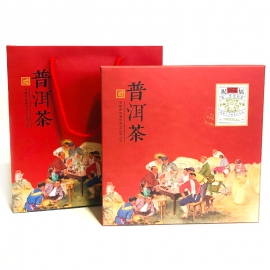 Коробка подарочная для пуэров с пакетом
