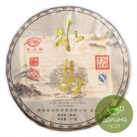 Пуэр Мэнхай «Биндао Лао Шу», 2016 г., 357 гр.