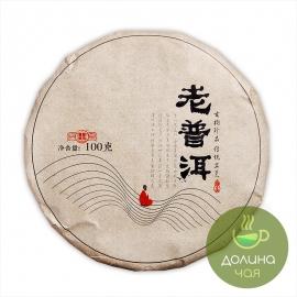 Пуэр шу Сяо Бин, Мэнхай, 2018 г., 100 гр.