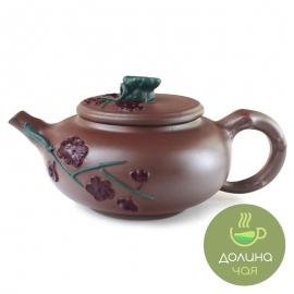 Чайник «Сакура», глина, объем 380 мл.