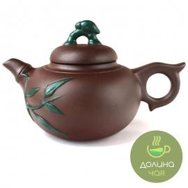 Чайник «Бамбуковый лес», глина, объем 400 мл.