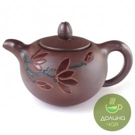Чайник «Лотос», глина, объем 400 мл.