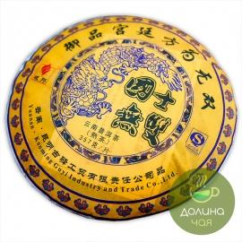 """Пуэр Мэнхай """"Го Ши Ву Шуан"""", 2014 г., 357 гр."""