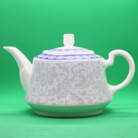 Фарфоровый чайник «Белый цветок», объем 230 мл.