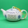 Фарфоровый чайник «Подсолнух», объем 220 мл.