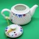 Фарфоровый чайник «Сердце ледяной орхидеи», объем 220 мл.