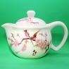 Фарфоровый чайник «Персиковое дерево», объем 350 мл.