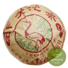 Пуэр шен Сягуань «Цзя Цзи», 2011 г., 100 гр.