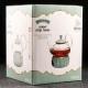 """Стеклянный чайник """"Элегия Грин"""", объем 600 мл. с подставкой подогревателем"""